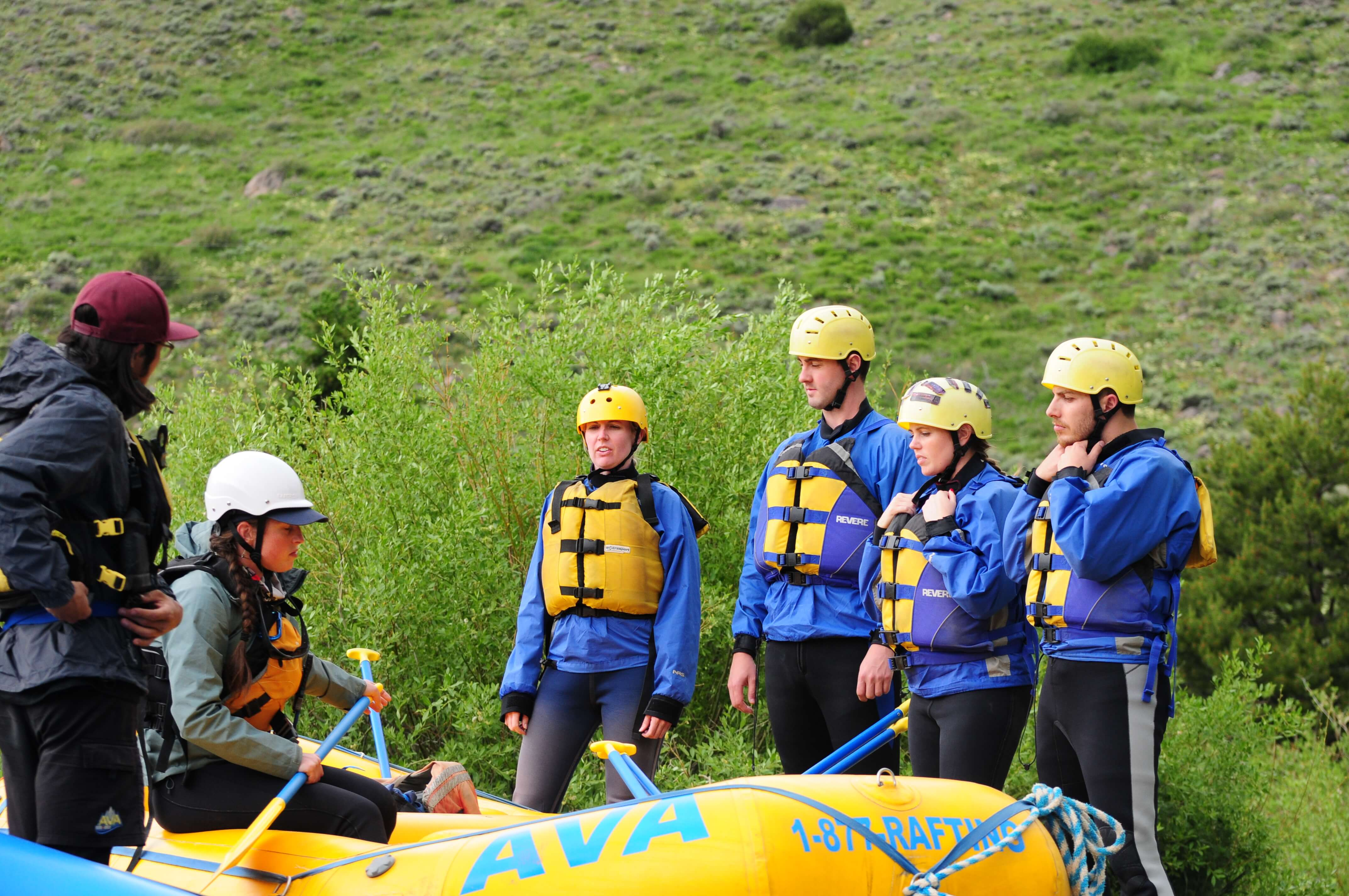 Blue River Rafting